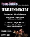 2017: 18 juni Jubileumconcert met Nico Schepers